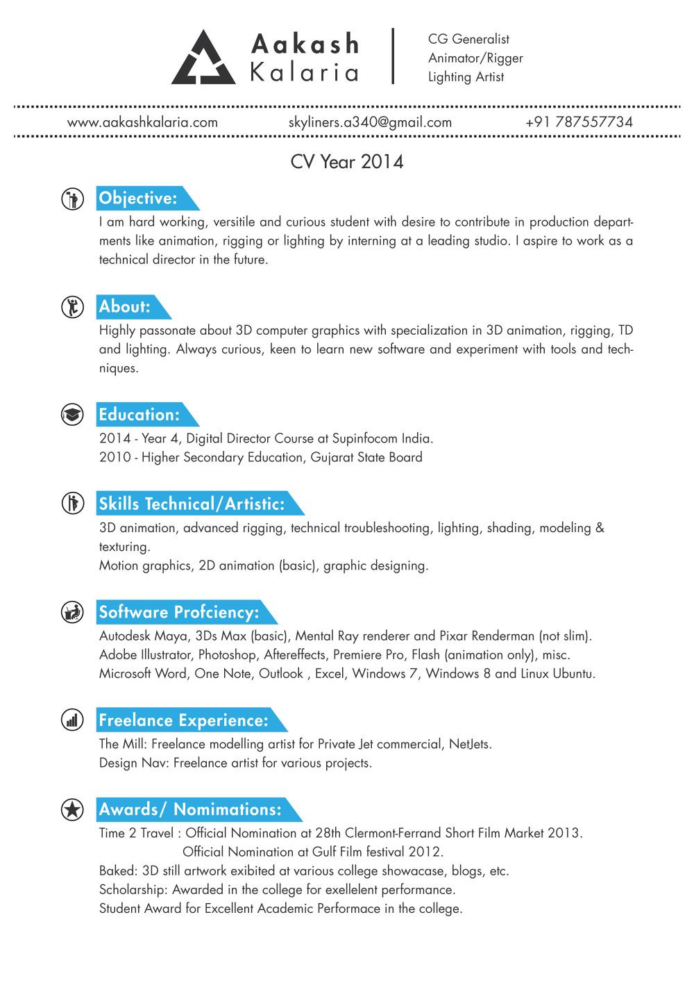 CV Resume - CV Login - Curriculum Vitae