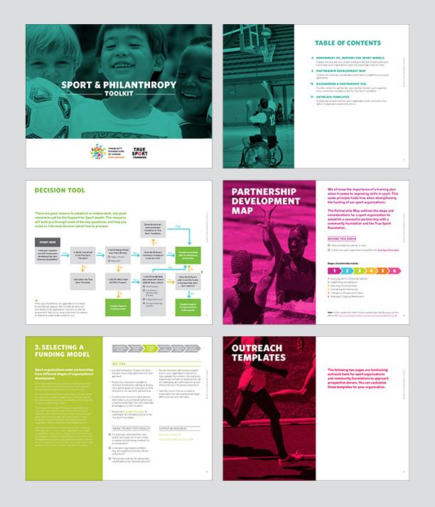 Sport & Philanthropy Toolkit - Tina Matei — Evocative Design