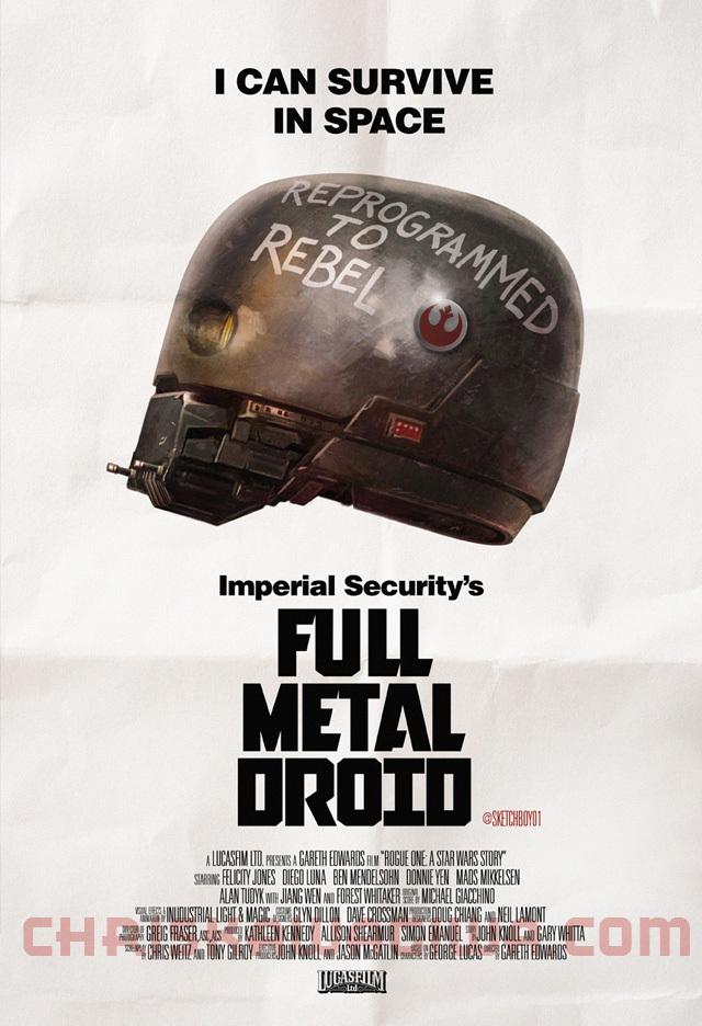 full metal droid chris kawagiwa illustration